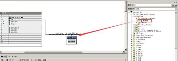 西门子s7-300plc与施耐德变频器profibus